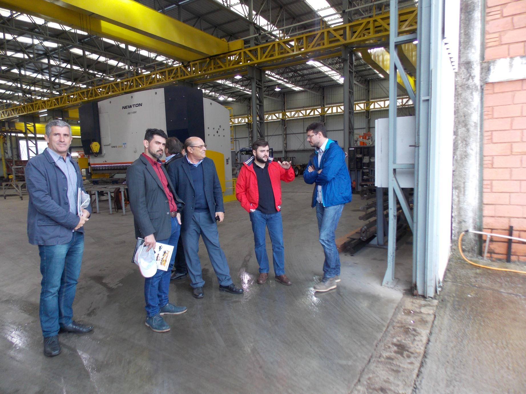 deputado visita imap - Deputado Gabriel Souza visita a Imap