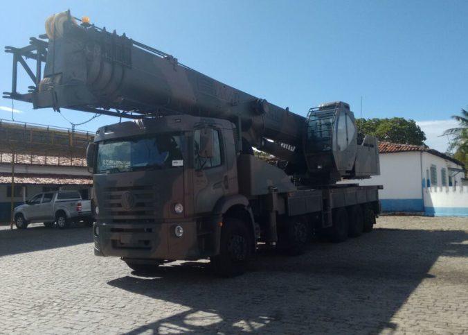 IMG 20170811 WA0053 676x483 - IMAP realiza entrega de Guindastes IMK 70.5 ao Exército