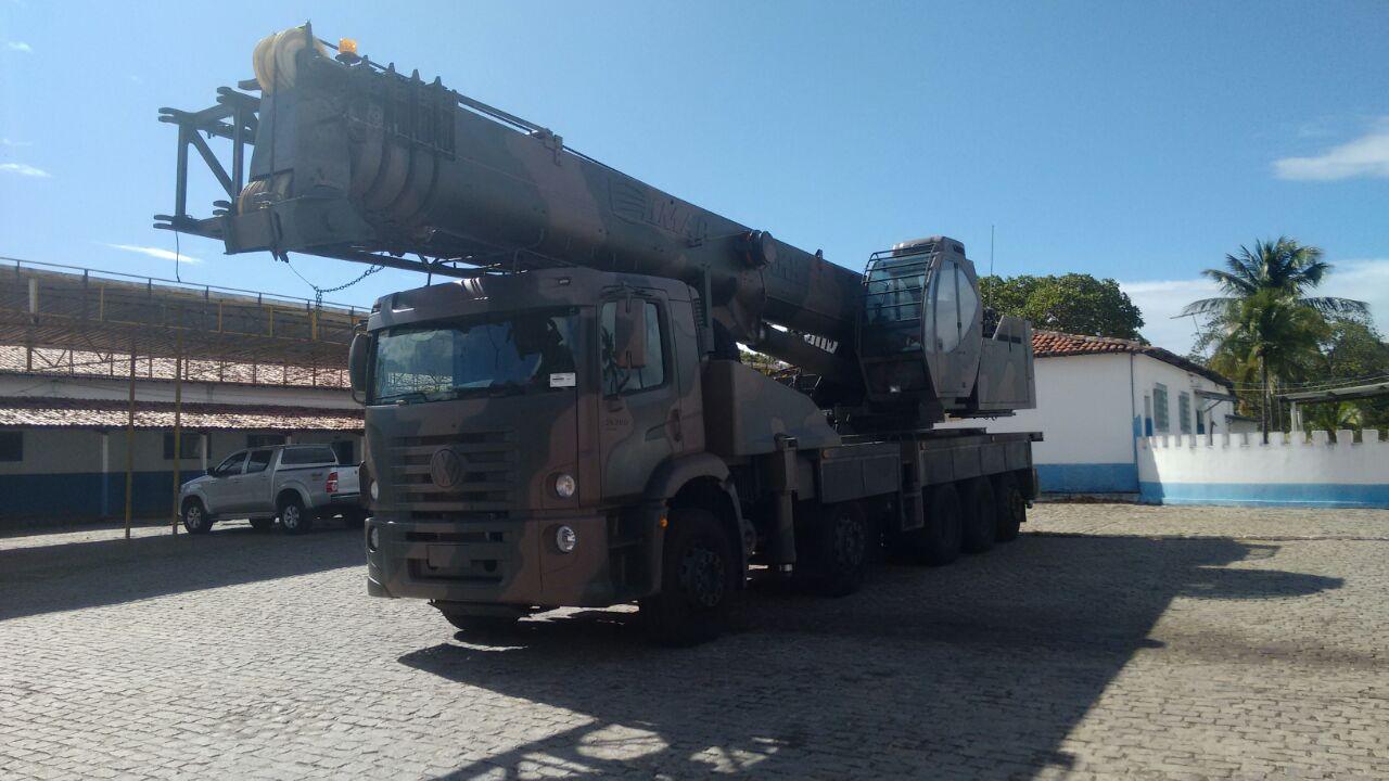 IMG 20170811 WA0053 - IMAP realiza entrega de Guindastes IMK 70.5 ao Exército