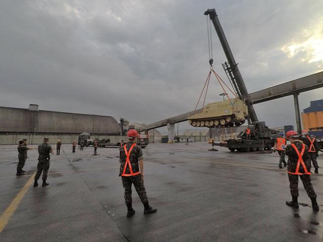 Operação do Exército Brasileiro conta com Guindaste IMAP