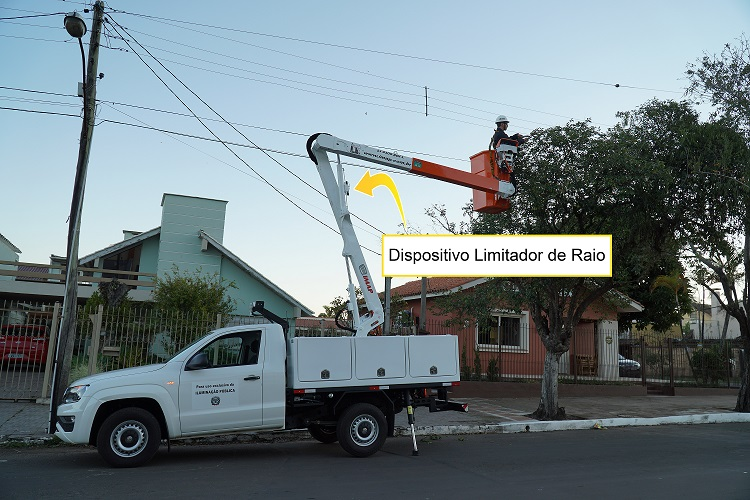 3 1 - Dispositivo Limitador de Raio