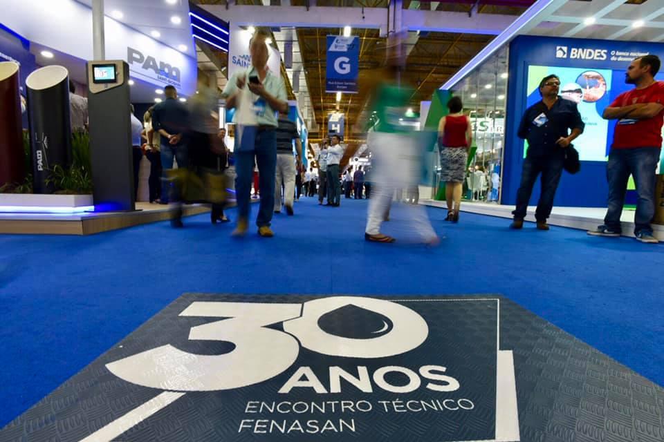 30 anos Fenasan - FENASAN completou 30 anos com edição especial