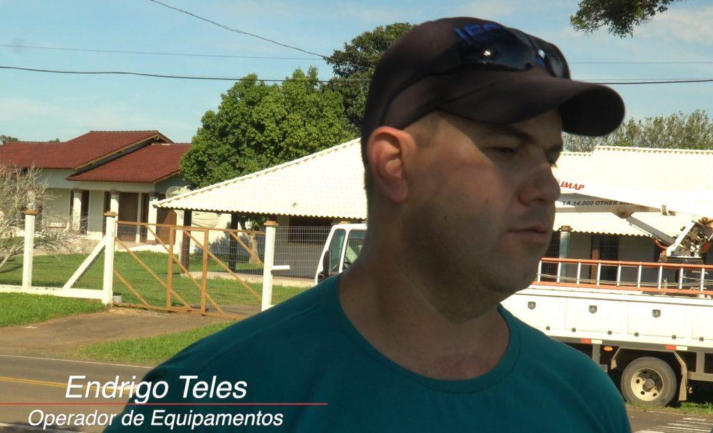 Endrigo Teles 1024x622 - [Case de sucesso] Podas de árvores na manutenção dos municípios