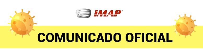destaque site - Comunicado oficial IMAP: COVID-19