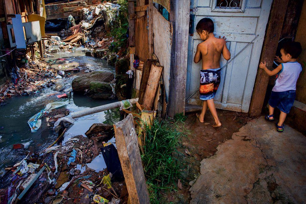 falta de saneamento 1024x683 - Pilares do saneamento básico