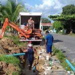 saneamento cosanpa 150x150 - Retroescavadeiras para Saneamento: Manutenções em tubulações quebradas
