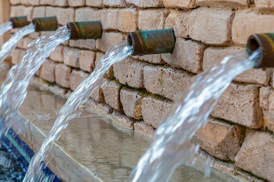 tubulações de água - Otimização nos Serviços de Saneamento