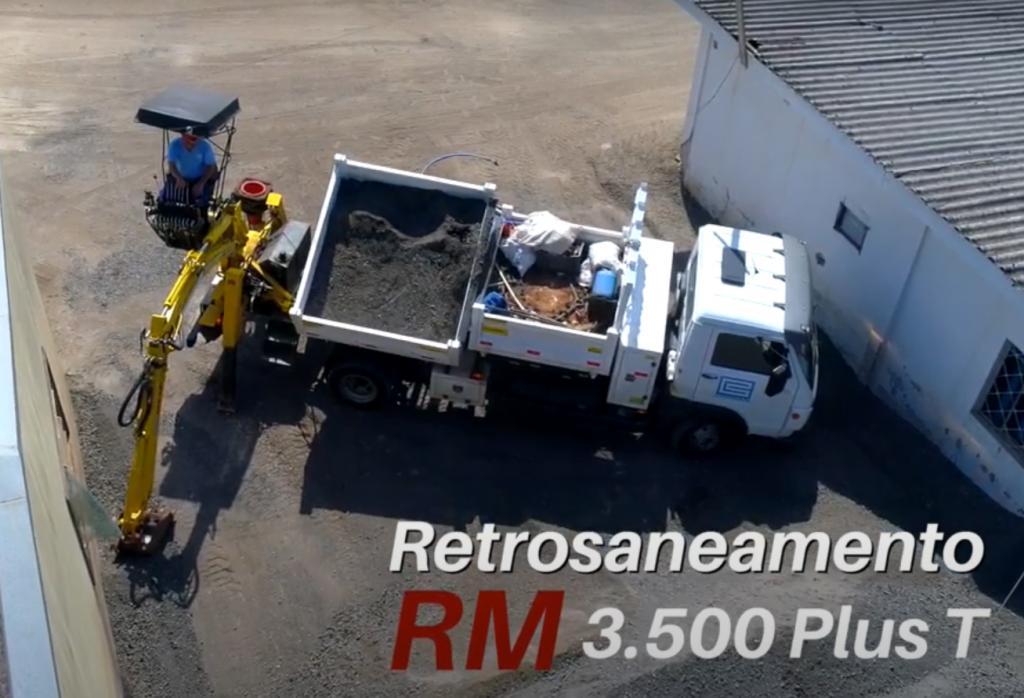 Retrosaneamento RM 3.500 Plus T 1024x698 - Como empresa do RS conseguiu aumentar a produtividade no saneamento